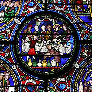 Canterbury Cathedral, The Marriage at Cana in ...