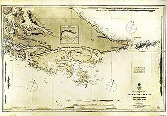 Die HMS Beagle  330px-Cape_Horn_Beagle_map_1828_small