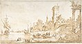 Capriccio with a Seaport and Classical Ruins MET DP801403.jpg