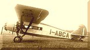 Caproni Ca.97 - The trimotor version of the Ca.97.
