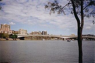 Bridges over the Brisbane River - Captain Cook Bridge