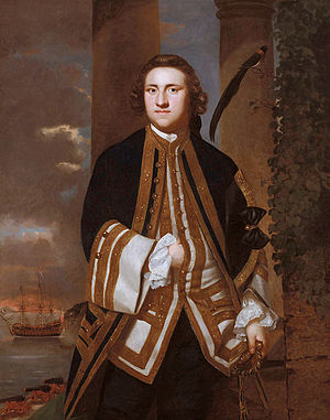 George Edgcumbe, 1st Earl of Mount Edgcumbe - George Edgcumbe, 1st Earl of Mount Edgcumbe, by Joshua Reynolds