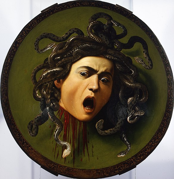 File:Caravaggio - Medusa - Google Art Project.jpg