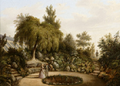 Carl Heinrich Böckmanns Garten um 1850.png