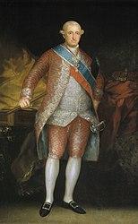 Francisco Goya: Charles IV in Court Dress