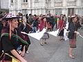 Carnaval des Femmes 2015 - P1360808 - Boliviens place de l'Hôtel-de-Ville - Paris.JPG