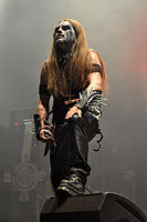 "Carpathian Forest, Roger ""Nattefrost"" Rasmussen at Party.San Metal Open Air 2013 09.jpg"