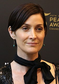 Carrie-Anne Moss Canadian actress