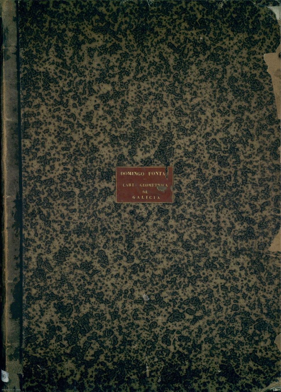 Carta geométrica de Galicia, en PDF (exemplar da biblioteca do Museo Naval).
