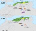Carte d'Algérie de 1600 et de 1700.png