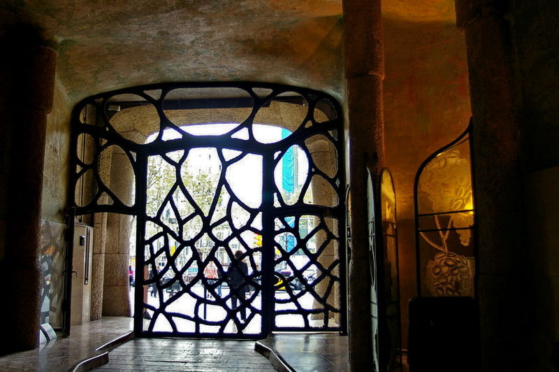 puertas bonitas eixample