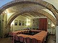 Castello della magione, interno, sala refettorio 04.JPG