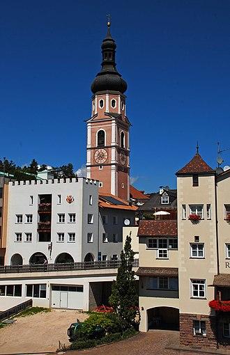 Kastelruth - Image: Castelrotto centro paese