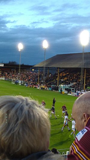 The Jungle (Wheldon Road) - Image: Castigers 1