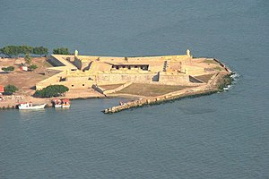 San Carlos de la Barra Fortress - View of San Carlos de la Barra Fortress