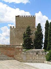 Castillo de Enrique II. Vista de la Torre del Homenaje desde la muralla (este).jpg