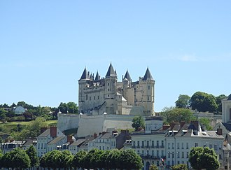 Capture of Saumur - Saumur was easily invested as its Governor was tricked out of his command.