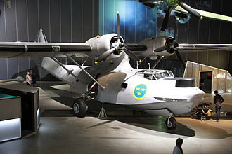 Catalina affair - Tp 47 Canso (Catalina) at the Swedish Air Force Museum.