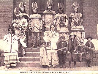 Catawba people - Catawba at THE CORN EXPOSITION 1913 Rock Hill