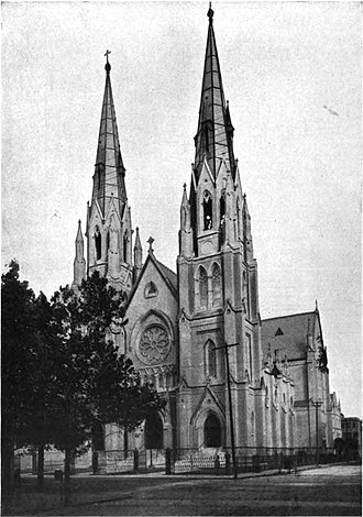 Cathedral of St. John the Baptist (Savannah, Georgia) - Image: Cathedral of St. John the Baptist, Savannah, Georgia