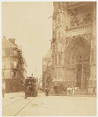 Photographie du portail de la cathédrale de Nantes