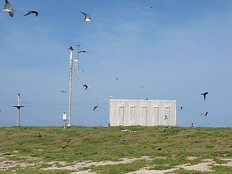 Cato Reef - Solar powered weather station on Cato Island