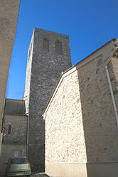 The bell tower of Causses-et-Veyran