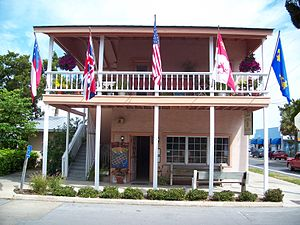 National Register of Historic Places listings in Levy County, Florida - Image: Cedar Key Hist Museum Lutterloh 01