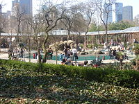 Central area of the Central Park Zoo