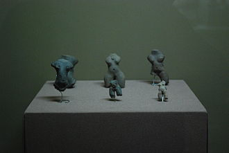 Paso de la Amada - Ceramic figures from Paseo de la Amada, 1700-1300 BCE, Regional Museum of Anthropology and History of Chiapas in Tuxla
