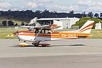 Cessna 172M Skyhawk (VH-DKQ) taxiing at Wagga Wagga Airport.jpg