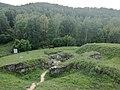 Cetatea dacică Costești-Blidaru-perspectiva aeriana.jpg