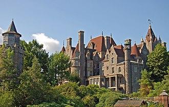 Boldt Castle - Image: Château de Boldt