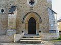 Chalagnac église portail.JPG