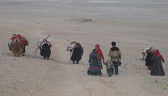 Changtang - Changpa nomadic people in Tibet