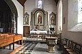 Chapelle latérale de l'église Saint-Pierre de Hambye.jpg