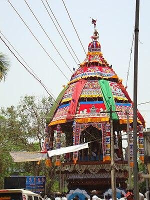 Swetharanyeswarar Temple - Chariot festival at Thiruvengadu