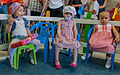 Charity gifts for children with cancer foundation Vanessa Isabel. Pediatric Specialty Hospital of Maracaibo 01.jpg