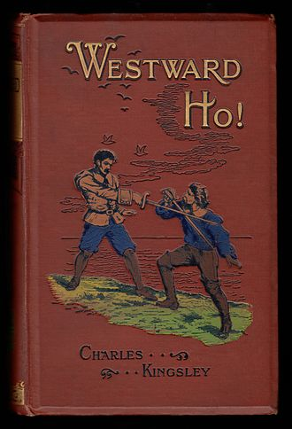 Frederick Warne & Co - Image: Charles Kingley 1899 Westward Ho! cover 2