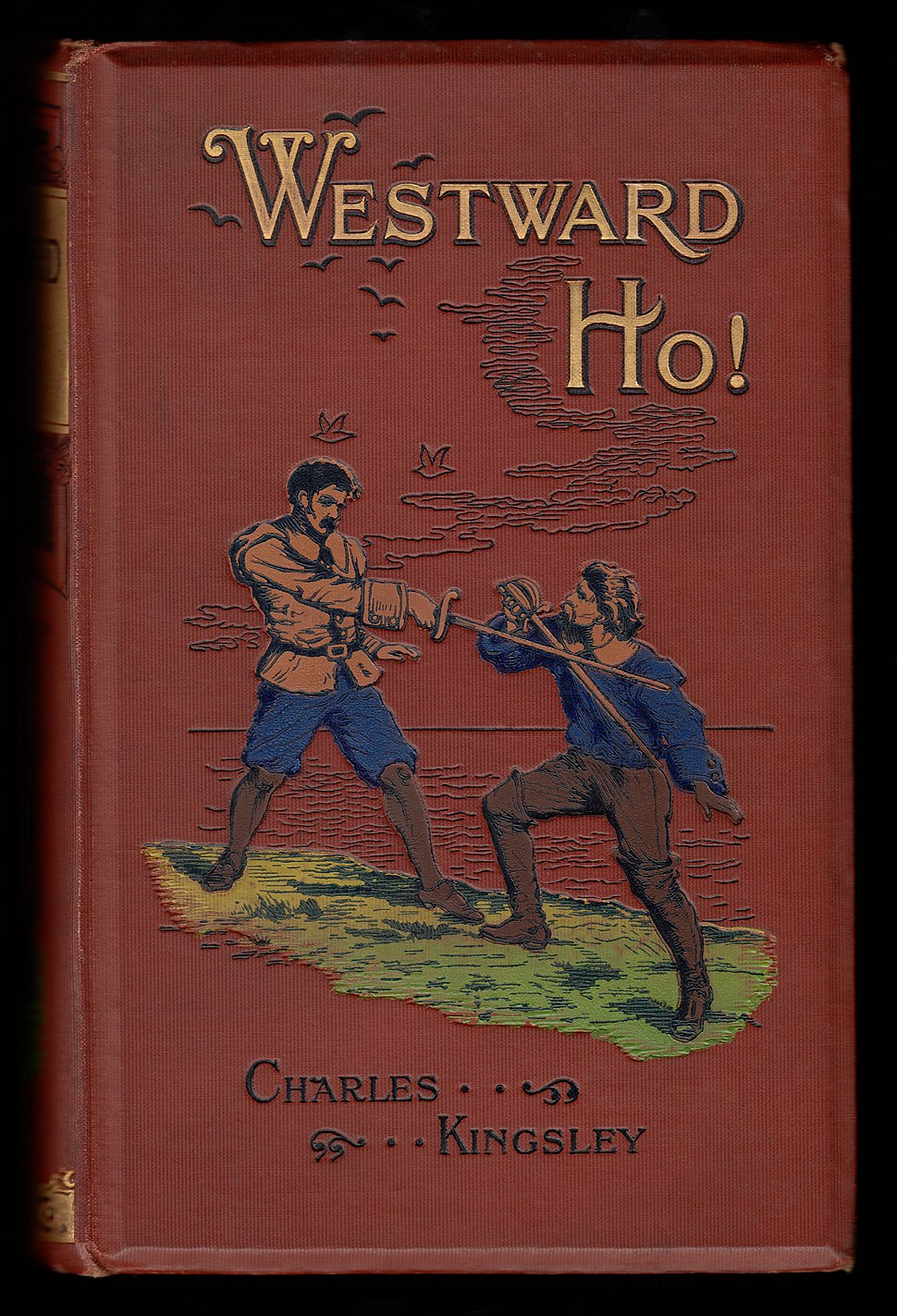 Charles Kingley - 1899 Westward Ho! cover 2