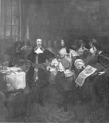 Anno 1660. Michiel de Ruyter wordt in de adelstand verheven