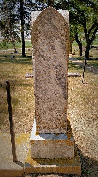 Charles Ingalls - Charles Ingalls gravesite, De Smet Cemetery, South Dakota