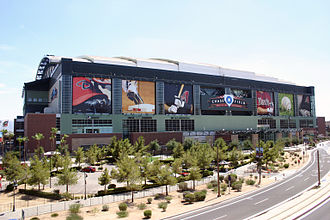 Chase Field - Chase Field as viewed from the north
