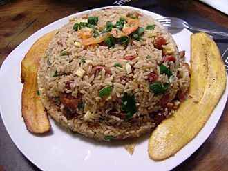 Fried rice - Arroz chaufa, Peruvian-Chinese fried rice
