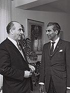 Chedi Jagan - Levi Eshkol 1961