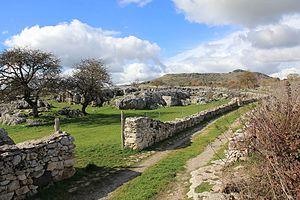 Cheremule - Image: Cheremule Necropoli di Moseddu (04)