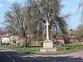 Cheriton War memorial and village green - geograph.org.uk - 1164.jpg