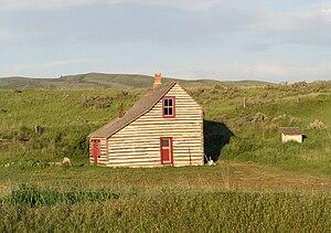 Chesterfield, Idaho - Denmark Jensen Cabin