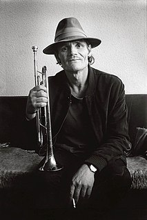 Chet Baker American jazz trumpeter, flugelhornist and singer