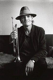 Chet Baker in 1983